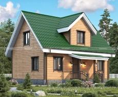 Проект дома Д-4